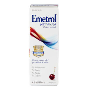 Brief instructions for the use of emetrol (domperidone)
